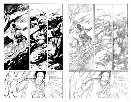 X-Men 25 p9 with pencils by JulienHB