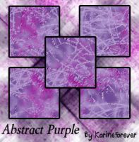 AbstractPurple00 by KorineForever