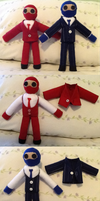 Spy Plushies by Arborix
