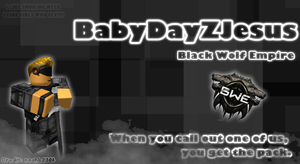 ROBLOX - Thumbnail for BabyDayZJesus by quadriplerainbow