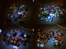 MB64's SkyLanders Collection by MarioBlade64