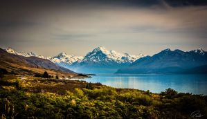 Mount Cook, New Zealand by PauloHod