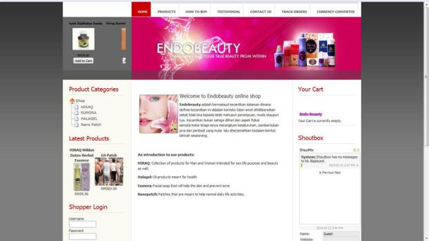 endobeauty e-commerce by zakir7