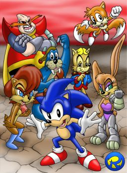 Sonic Satam DVD Second Try by rogferraz