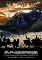 Lord of the Rings: Return of the King Poster by Maikel-S