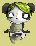 Little Panda and Bee. by Caliph-Vizer