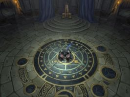 Throne Room of Lordaeron by Rabenstolz
