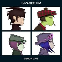 Invader Zim - Demon Days by AtomicShadowflame