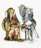 chess by Kuroi-kisin