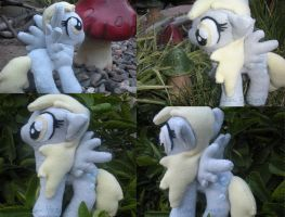 Derpy plushie-all sides by Risocaa