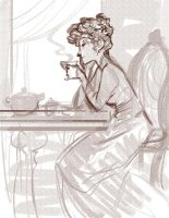 Afternoon Tea by aberry89