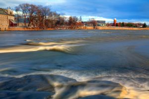 Late fall waters HDR by digswolf
