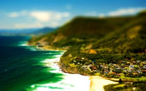 Tilt Shift Seaside by Lagnar2010