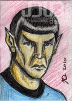 Mr. Spock by J-Dubi