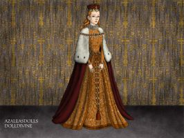 Queen Elizabeth I Coronation dress by jjulie98