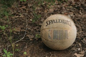 Old Basketball by crumpstock