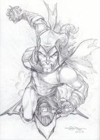 Green Goblin pencils by Dingodile24