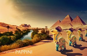 Pappini Toys - Egypt by muratsuyur