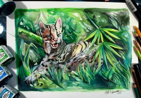 248- Ocelot by Lucky978