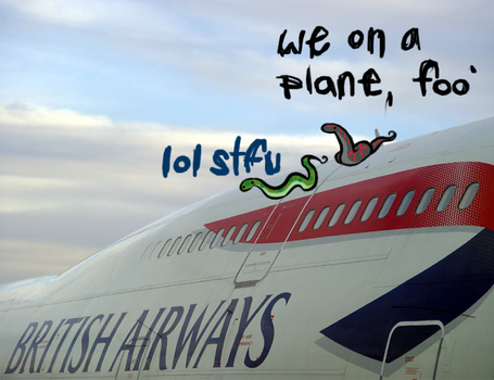snakes on a plane by sinkship