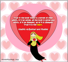 Purification of heart by littleMuslimah