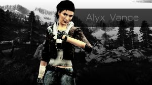 Alyx Vance Wallpaper by nano2412