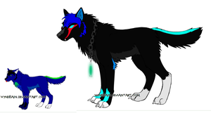 Lex n Yumi Wolf forms by Toph-Rulz16
