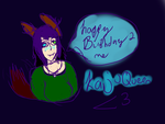 Happy Birthday 2 Me by Artemis-Dragunus