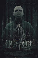 Harry Potter and the Deathly Hallows | Poster by Squiddytron