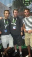 RTX-2013 Gavin Free and Dan the Man by DooMGuy117