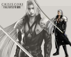 FF7 - Sephiroth by LordSlayer
