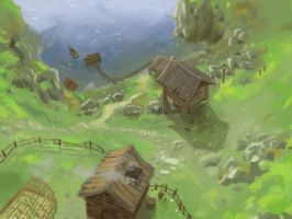 Highland Habitation by KeanKennedy