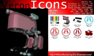 VIcons - Halcali by 100SeedlessPenguins