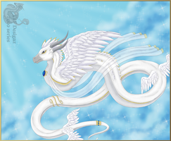 Sacred Angel dragon 2010 by Natasha-Donovan1989