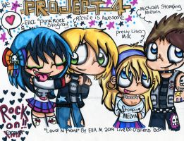 Project 4 Drawing by Violent-Rainbow
