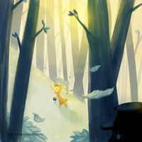 Transparent Forest by epicawesomepieisepic