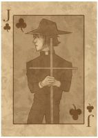 .Jack of Clubs. by xandrei