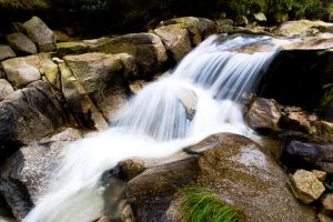 Waterfall on the Mourne by fraughtuk