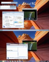 Bluish RC For Windows 7 by arudei6209