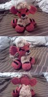 Growlithe Crochet Commission 2 by ScarletPianoWires