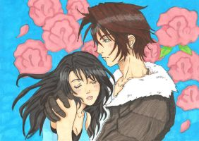 Squall X Rinoa by ClaireRoses