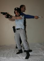 Jill and Wesker 3 by MajesticStock