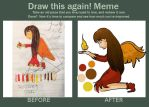 Before and After Meme by luigixdaisy14