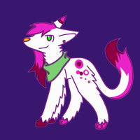 Scene Dog Adoptable by CleverConflict