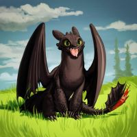 Toothless by Lis-Alis