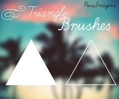 Triangle Brushes {PureImagine} by WorldCustomize