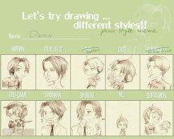 Style Meme by muffinmimi