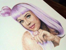 katy perry2 WIP sketch by rayjaurigue
