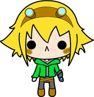 Ezreal, the chibi explorer. by yue-3