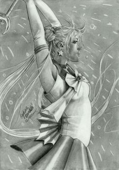 Sailor Moon Graphite Real by AngelinaBenedetti
